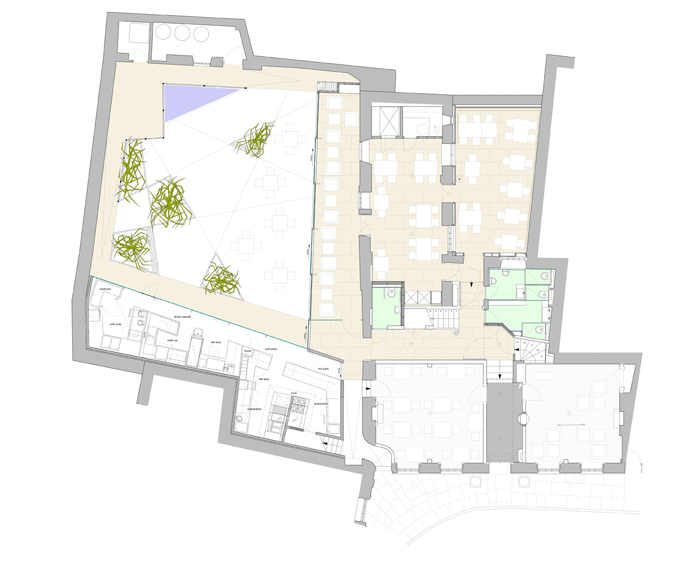 02 GA ground floor plan