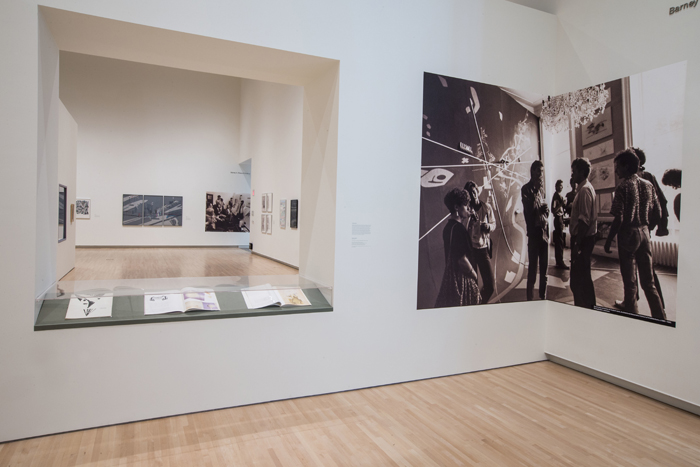 Installation view of Drawing Ambience: Alvin Boyarsky and the Architectural Association, at the Mildred Lane Kemper Art Museum, Washington University in St. Louis (September 12, 2014 – January 4, 2015). Photo by Whitney Curtis.